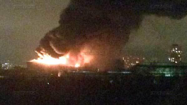 Cháy dữ dội tại thủ đô nước Nga