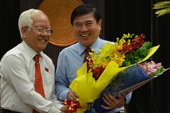 Ông Nguyễn Thành Phong làm Chủ tịch TP.HCM