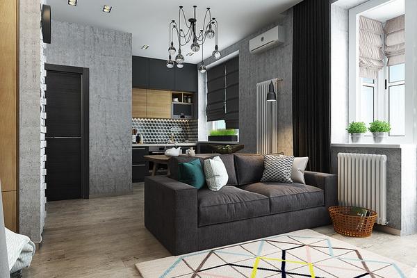 Căn hộ 40m² có thiết kế cực dễ ứng dụng cho nhà có hai người