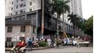 Hầu hết chung cư đại gia Lê Thanh Thản không an toàn cháy nổ