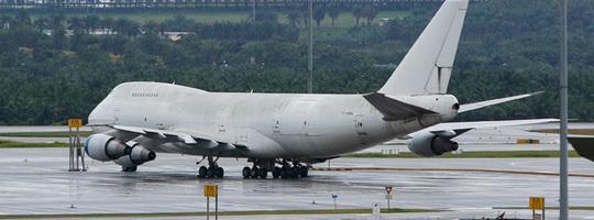 Ba máy bay Boeing bỏ quên vô chủ ở sân bay