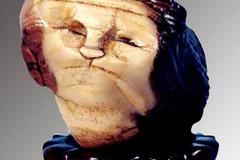 Hòn đá hình mặt người giá 300 tỷ