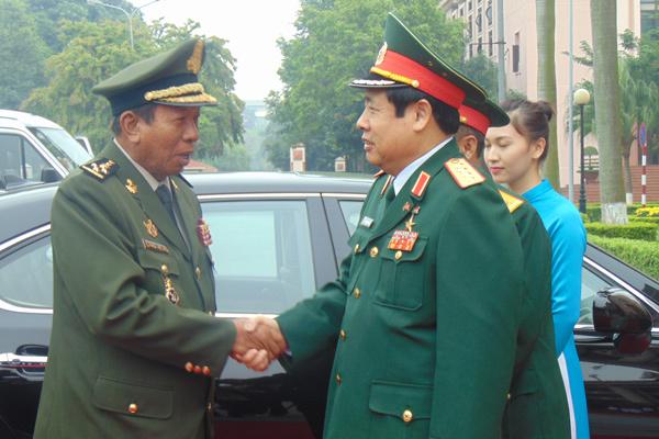 VN - Campuchia bảo vệ đường biên giới hòa bình