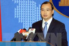 VN phản đối việc quan chức Đài Loan ra đảo Ba Bình