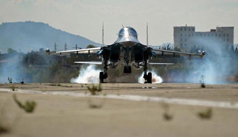 Rủi ro phía sau uy lực không quân Nga ở Syria