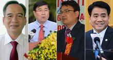 Dàn Chủ tịch tỉnh mới: Thế hệ 6x áp đảo