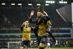 Highlights Aston Villa 0-2 Arsenal