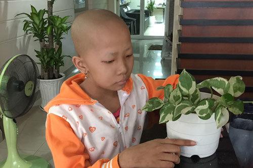 Ước mong của cô bé 9 tuổi bị ung thư