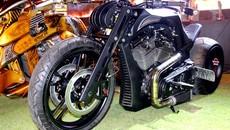 Siêu môtô độc nhất thế giới của biker Sài Gòn