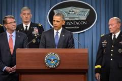 """""""Mỹ đang tấn công IS dữ dội chưa từng có"""""""