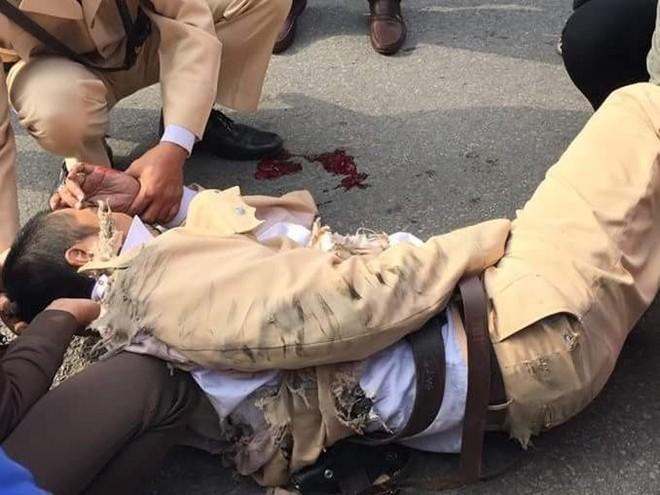 Tài xế kéo lê CSGT bị khởi tố về hành vi giết người