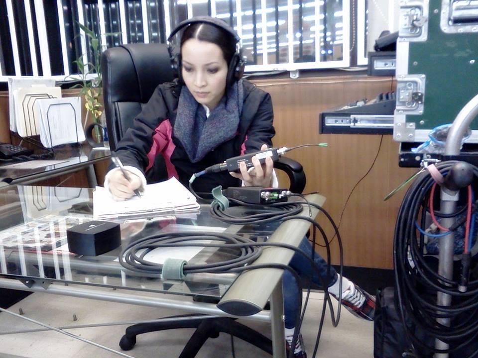 Linh Nga, Thuyết 'buôn vua', diễn viên Linh Nga