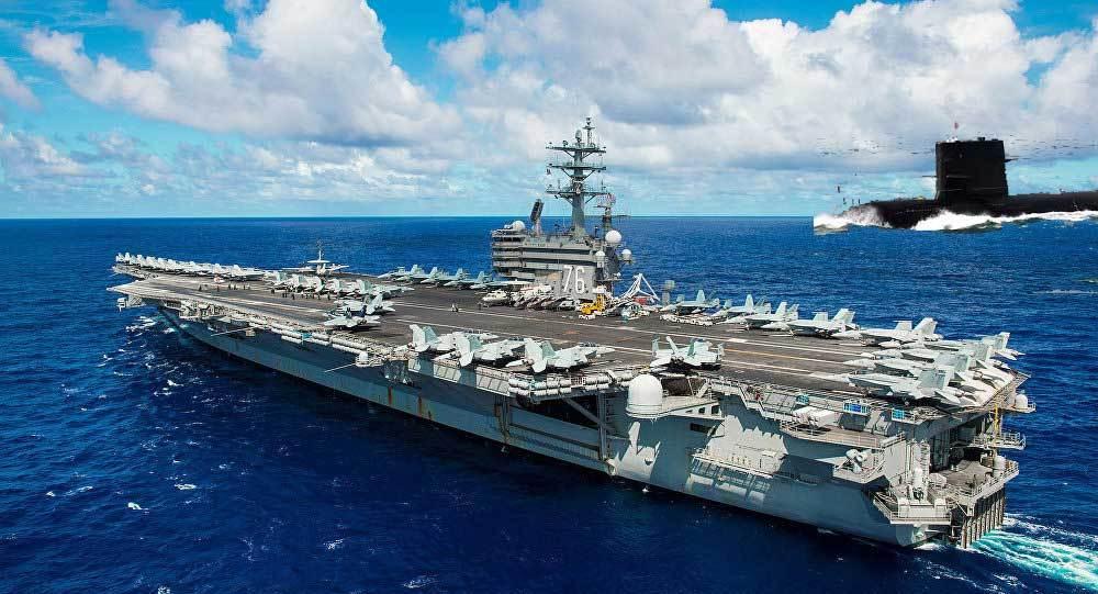 Trung Quốc diễn tập tấn công tàu sân bay Mỹ
