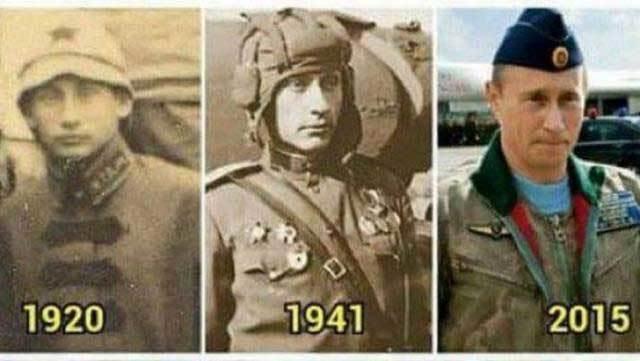 Nga, Tổng thống, Putin, bất tử, thần thoại, quân nhân, binh sĩ