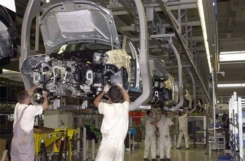 Thái Lan đứng thứ 12 thế giới về sản xuất ôtô