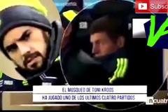 Isco giật mình khi phát hiện ra Kroos ngồi dự bị
