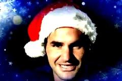 Xem Djokovic, Federer hát mừng Giáng sinh