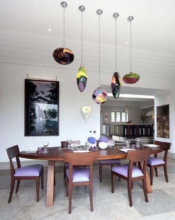 thiết kế bàn ăn, 15 thiết kế bàn ăn đẹp, trang trí phòng ăn, nội thất phòng ăn
