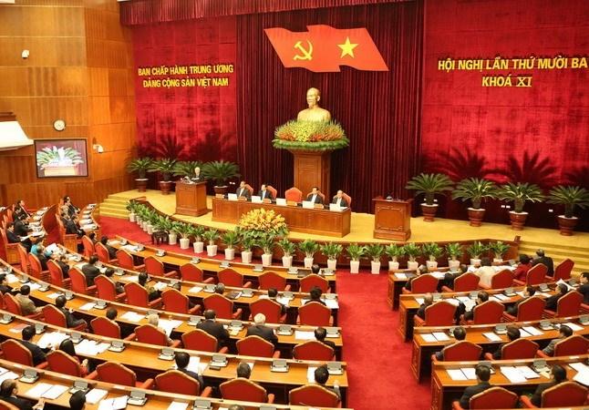 Bộ Chính trị trình Trung ương chương trình Đại hội 12