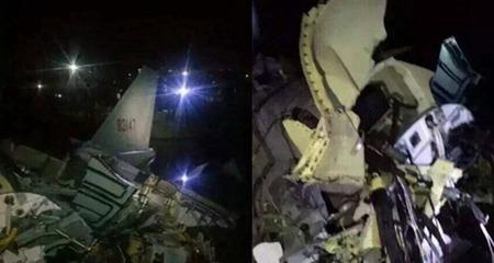 Máy bay quân sự Trung Quốc gặp nạn
