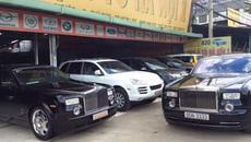 Ngỡ ngàng với Rolls-Royce Phantom được bày bán tại chợ ô tô cũ