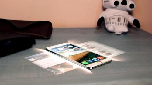 Apple nghiên cứu màn hình tương tác ảo cho iPhone mới