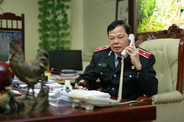 Cuộc điện thoại 2h đêm tố tham nhũng với Cục trưởng
