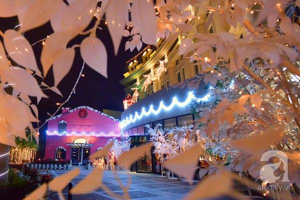 Chiêm ngưỡng những cây thông Noel khổng lồ ở Hà Nội