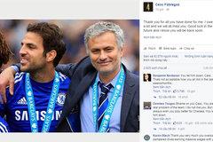 "Fabregas bị fan ""chửi"" khi tung ảnh tri ân Mourinho"