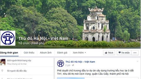 Hà Nội. cung cấp thông tin, facebook, mạng xã hội