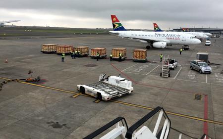 200 động vật quý Nam Phi bay chuyên cơ về Phú Quốc