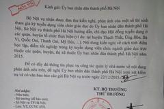 Thí sinh kêu cứu, Bộ Nội vụ gửi công văn hỏa tốc cho Hà Nội