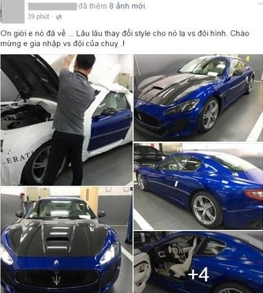 Bà chủ 8x Sài Gòn tậu siêu xe 7 tỷ