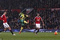 Highlights Premier League: M.U 1-2 Norwich