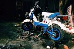 Bất ngờ Honda Chaly phiên bản Doraemon