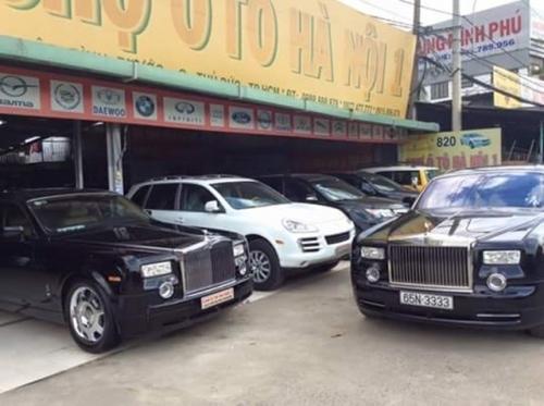 Siêu xe Roll Roys đại gia Diệu Hiền bán rao chợ xe cũ