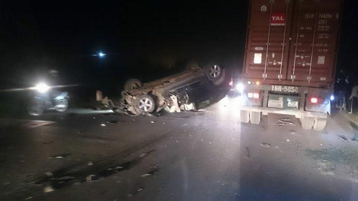 tai nạn giao thông, xe BMW gây tai nạn giao thông, CSGT