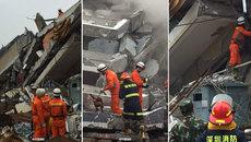 Lở đất rợn người, 22 tòa nhà thi nhau đổ sập