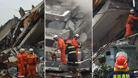 lở đất, tòa nhà, đổ sập, Quảng Đông, Thâm Quyến