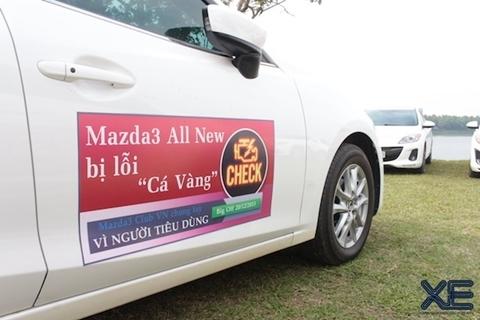Người dùng Mazda 3 bêu tên xe dính lỗi 'nổi cá vàng'