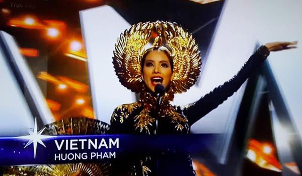 Phạm Hương, Phạm Thị Hương, Hoa hậu, Hoa hậu Hoàn vũ