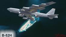 Sức mạnh 'pháo đài bay' B-52H tuần tra ở Biển Đông