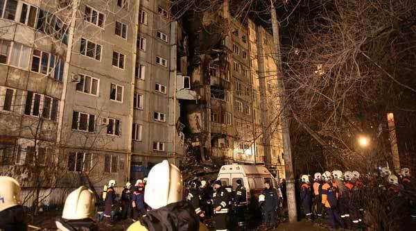 Nổ lớn phía nam nước Nga, 5 người chết