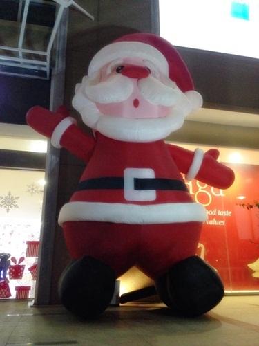 Giáng sinh, 2015, trang hoàng, khu thương mại, ngập tràn
