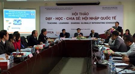 Bàn cách xuất khẩu công nghệ giáo dục Việt Nam