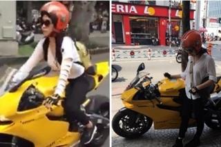 Xuất hiện người đẹp và xe khủng hầm hố gây náo loạn phố Sài Gòn