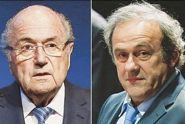 Blatter, Platini long sòng sọc vì lệnh cấm 8 năm