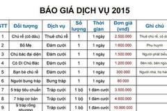 Choáng Hà Nội: Cho thuê chú rể, bảo hành 5 năm