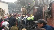 Máy bay lao vào tường, toàn bộ người trên khoang thiệt mạng
