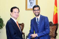 Thủ tướng tiếp Tổng giám đốc điều hành Google